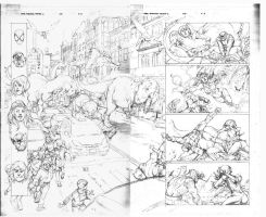 MAD Avengers 33 double by igbarros