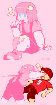 Kirby Shoots For the Stars! by sIurpuff
