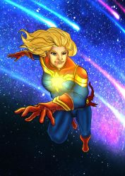 Captain marvel by nic011