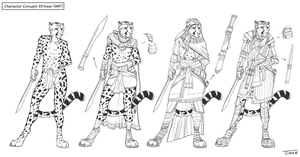 Character Concept: Eli'maar (WIP) by TitusWeiss