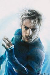 Quicksilver (drawing) by Quelchii
