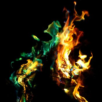 Fire in Flux by SpencerCameron