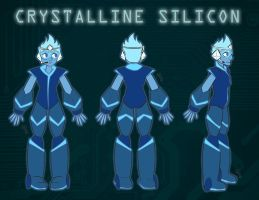 Crystalline Silicon by Cosmic-Candy-Shop