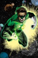 Green Lantern by ChrisNewmann