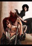 BLEACH: Renji and Rukia by duskflare