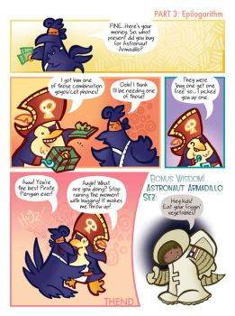 Pirate Penguin Comic 8C YoCell by raisegrate