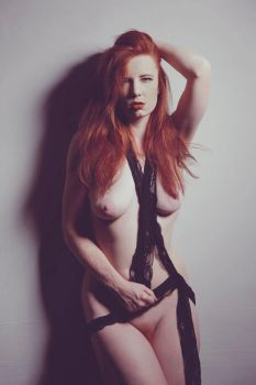 Ginger and lace by ChrissieRed