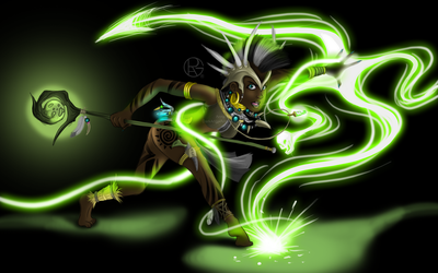 Zecora The Witch Doctor by Py-Bun