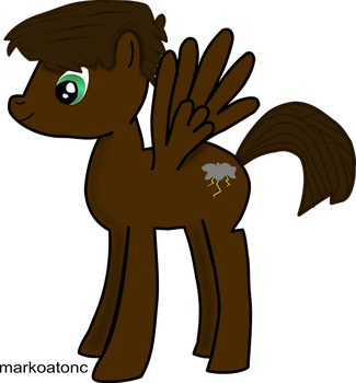 My first oc- Vector version (Edited) by markoatonc