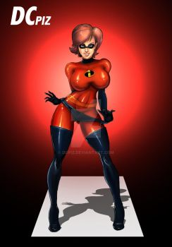 Mrs Incredible is ready by DCPiz