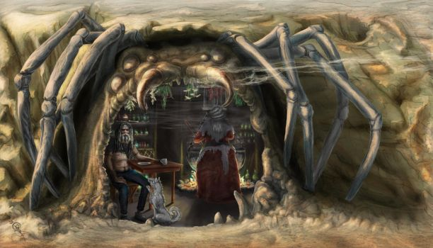 Witch Cave (Dream) by Irbisty