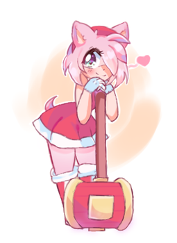 Amy Rose by Puppy-Bun