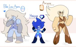 - Adoptable gems_Tryout_ Closed - by PencilTree