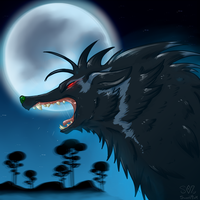 Fenrir by SweetMint9