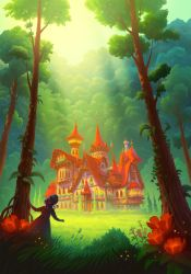 The Cottage in the Woods by petura