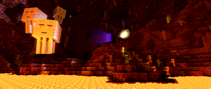 The Nether...   with waj by Blenden92