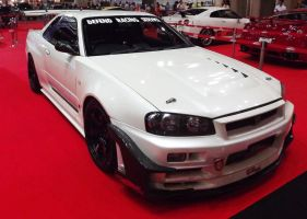 Nissan Skyline R34 Dressed up by sudro