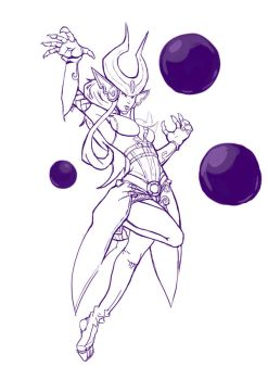 Syndra - Balls to the Walls! by eggoverlord
