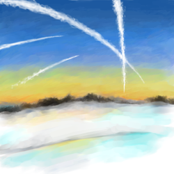 Vapour clouds by Flarona
