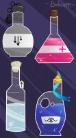 Potions Concept by Bashcat99