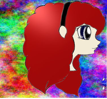 Gimp Drawing. Colored by kittenluver101