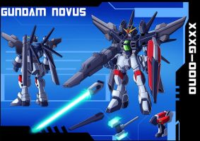 Commission: Gundam Novus Profile by zeiram0034