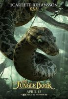 New Jungle Book Kaa Poster by Artlover67