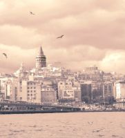 Galata in My Dream by limeflowery