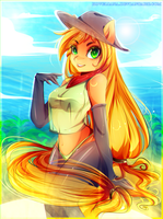 Applejack by Koveliana