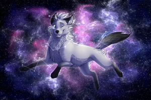 Commission| Galaxy by LaivaWolf