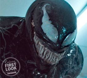 Official New Look at the face of Tom Hardys Venom by Artlover67