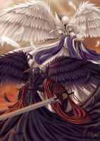 Angels of War and Peace by theanimeister