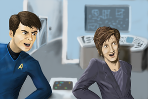 I'm a Doctor Not a Timelord by Chimaera-Stormhawk