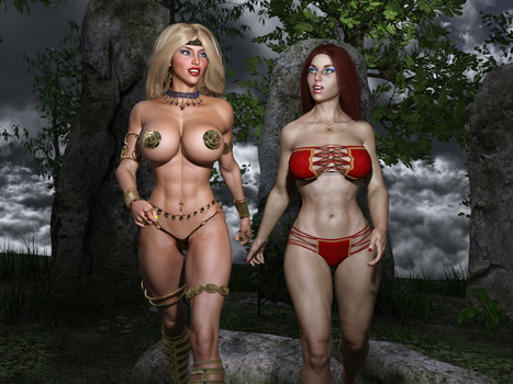 The Enchantress and the Warrior 232 by Nathanomir