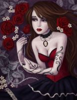 Poison Roses by Enamorte