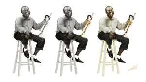 Louis Armstrong by wafspr