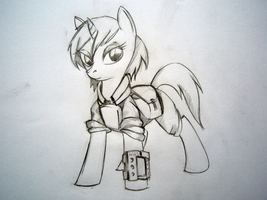 mlp_12729(Littlepip) by lachasseauxhiboux