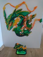 Pokemon #47 - Mega Rayquaza + mini by MagicPearls