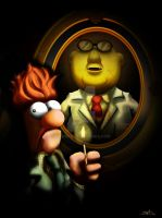 Muppets : Beaker in the darkness by Dawid-B