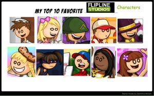 My Favorite Papa Louie Characters by tackytuesday