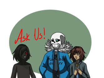 ::Nightmaretale - Ask Us (CLOSED):: by xxMileikaIvanaxx