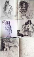 Sketchbook Dump by Roots-Love