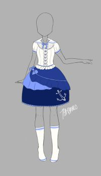 Outfit Adopt 0001 (closed) by tamaneko-i-b