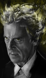 12th // Doctor Who by D4MNED-NONAME