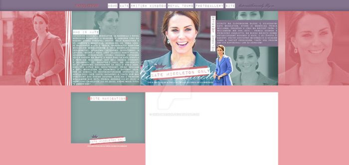Ordered layout for katemiddleton-only.blog.cz by ErikaMDesign