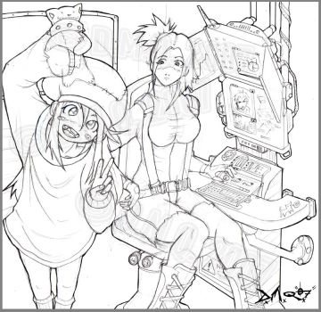 SisterS-2007: LineZ by mUnKy01010