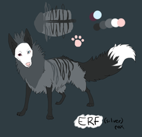 ERF ref (fursona or mascot of sorts) by Shwonky