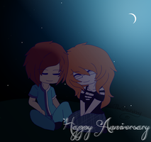 [Gift] Happy Anniversary to soul and derp by TheStevieBoy