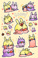 Goomy Stickers