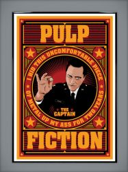 Pulp Fiction: The Captain by MarkItZeroNET